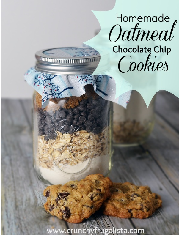 Oatmeal Chocolate Chip Cookies (perfect for Santa!)