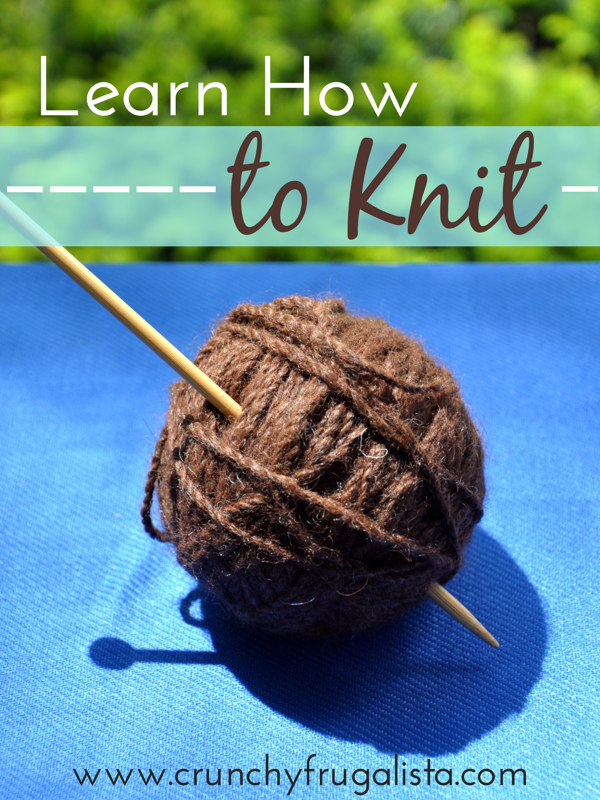 Learn How To Knit : Join Me and Learn How to Knit