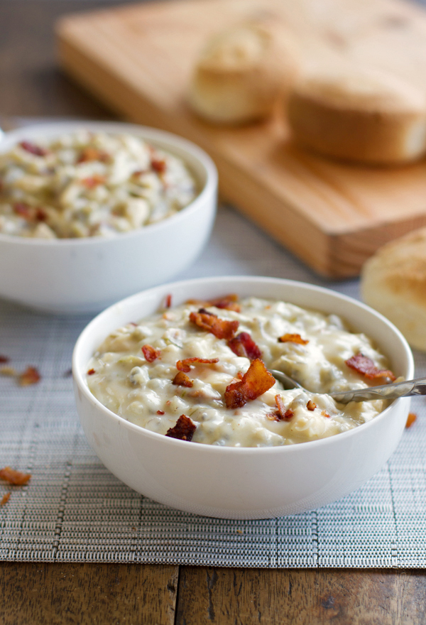 Chicken and Wild Rice Soup by Pinch of Yum