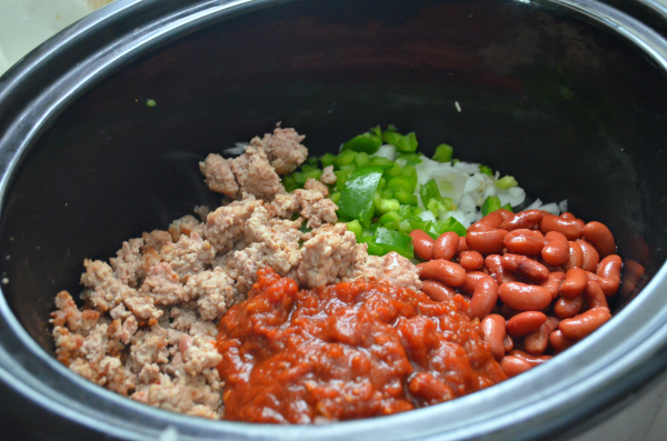 Turkey Crockpot Chili