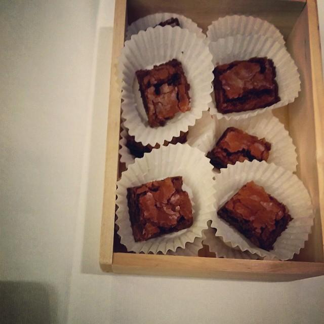 @Krusteaz brownies anyone? #Ifbc #yummy #krusteaz #foodie #instagood